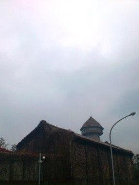 雨の東山給水塔 -東山給水塔-