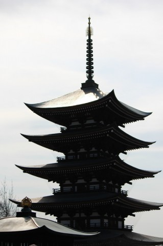 日泰寺五重塔